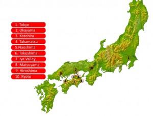 Jan's shikoku tour#
